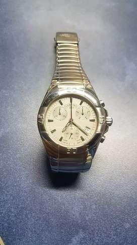 Reloj certina acero