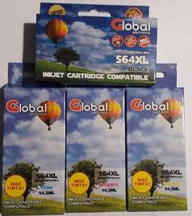 Vendo combo de cartuchos para HP 564XL Para B209 B210 C6380 C6300 4 Colores