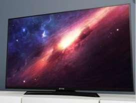 """Televisor Evvo de 55"""" Smart TV UHD."""