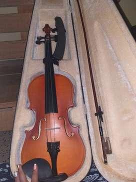 Violin verona 3/4 con estuche y hombrera