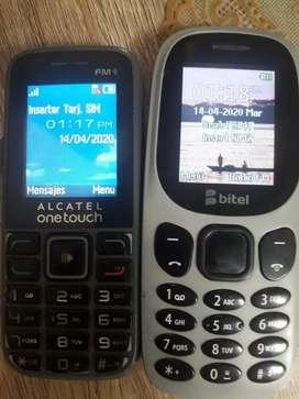 Vendo 2 celulares basicos