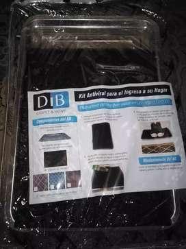 Kit de tapete antiviral para el ingreso del hogar o empresa