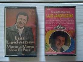 Cassettes Luis Landrisina Mano A Mano Con El País - El Humor De Mi País