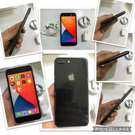 iPHONE 8 PLUS 64G  NEGRO BATERIA 87% COMO NUEVOS