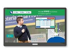 Sistema Resultados Sorteos En Vivo Tablero Cartel Agencias de Quiniela