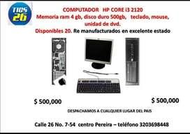 Computador Hp Core I3 2120