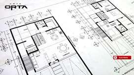 Diseño arquitectónico y planos municipales