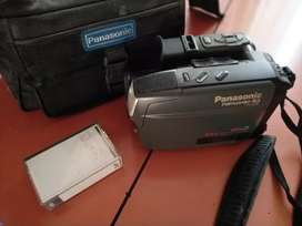 Camara video filmadora vhs Panasonic