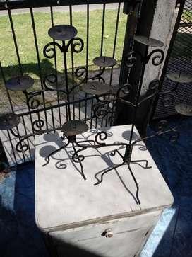Porta Velas hierro