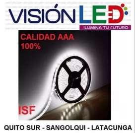 Cinta Luz Led Unicolor 5050 Decoración 5mt - Tuning