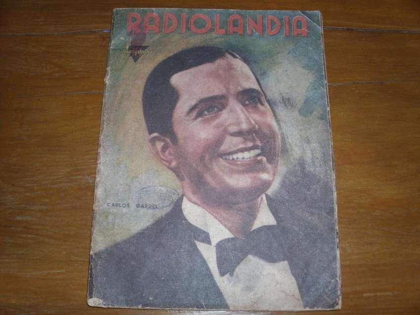 Gardel Carlos Revista Radiolandia Año 1939 0