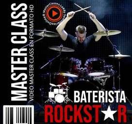 Curso MasterClass Baterista RockStar