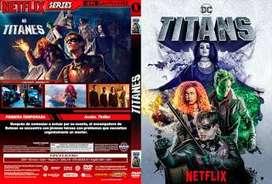 Titans serie completa dvd
