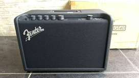 Amplificador para guitarra eléctrica Fender Mustang GT40 con Bluetooth y USB nuevo
