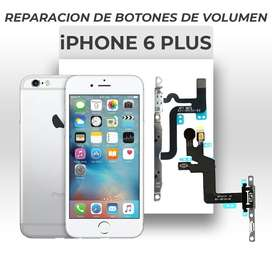 ¡Cambio de Botones de Volumen Iphone 6 Plus!