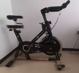 Bicicleta Spinning 18 Kg volante