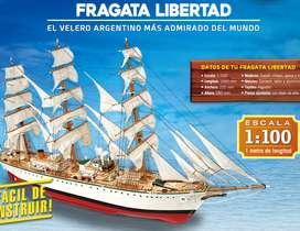 Fragata Libertad Colección Salvat Completa!!!