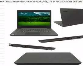 Laptop lenovo cori I3
