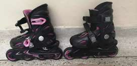 Patines marcar roces