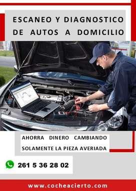 ESCANEO COMPUTARIZADO MULTIMARCA A DOMICILIO ESCANER AUTO
