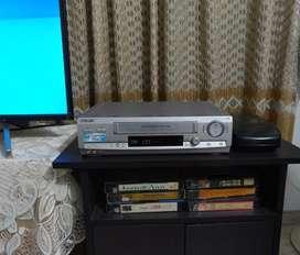 VHS Sony 6 Head Hi-Fi Stereo Auto Limpiador Cabezal