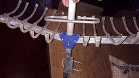 Vendo antena satelital
