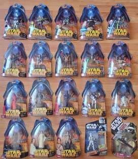 Star Wars Figuras selladas Revenge of the sith