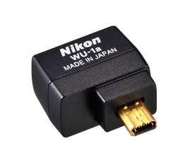 Adaptador Wi-Fi Nikon WU-1a Pasa tus fotos cámara a tu celular