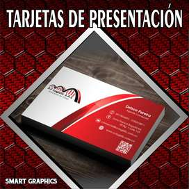 TARJETAS DE PRESENTACION VOLANTES FLYERS LITOGRAFIA DISEÑO GRAFICO PUBLICIDAD PALMIRA CALI SMART GRAPHICS