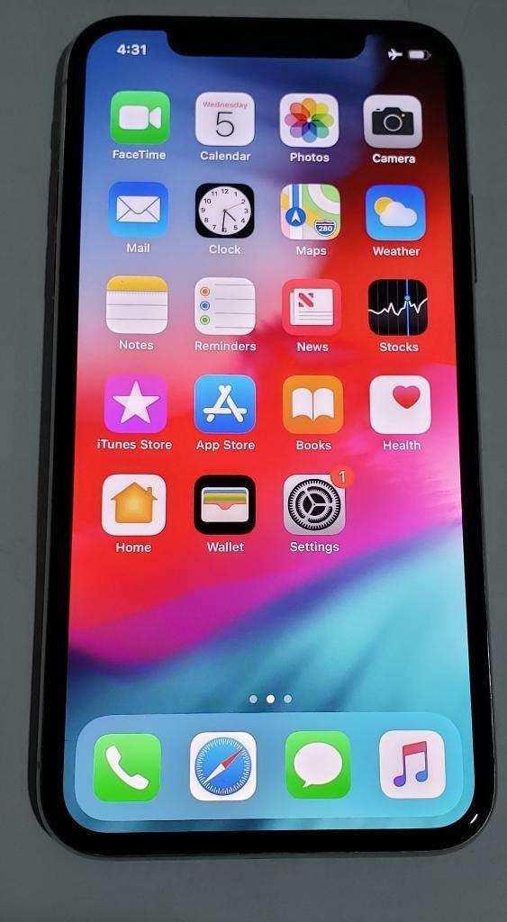 IPhone X 64gb Blanco - bandas libres 0