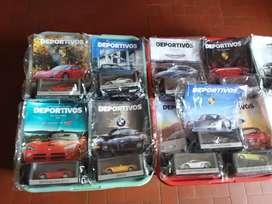 Vendo autos de colección superdeportivos a 600 cada uno son 13 coches l