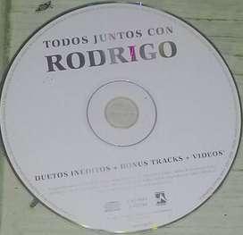 VENDO CD DE RODRIGO, NO INCLUYE CAJA.