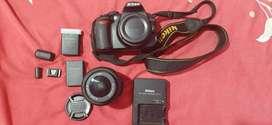 Camara Profesional Nikon D3100 Con Lente 18-55mm