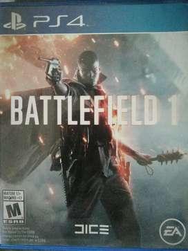 Battlefield 1 ps4 un mes de uso