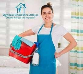 Necesito señora para trabajar en casa peruana