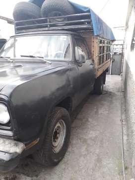 Camioneta para transportar ganado