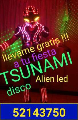 Discoteca 600 Disco Movil Alien  Led