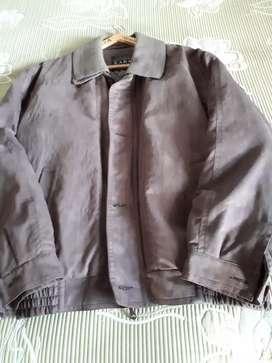 Campera de vestir marrón talle L