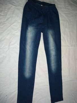 Jean tipo calza