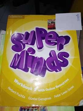 Super minds workbook 5