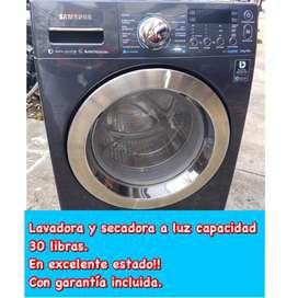 Lavadora/secadora a luz