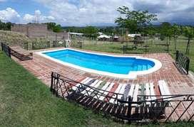 xn13 - Casa para 3 a 6 personas con pileta y cochera en Villa Ciudad de América