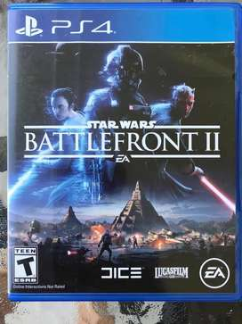 Battlefront StarWars Play Station PS4 Usado Unico Dueño