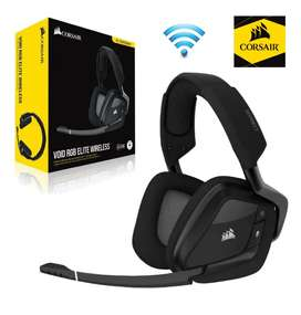AUDÍFONOS CORSAIR VOID ELITE WIRELESS RGB 7.1 SURROUND PREMIUM NUEVOS MODITECPERU2025 PAGO CONTRAENTREGA ENVÍOS