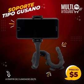 SOPORTE CELULAR TIPO GUSANO