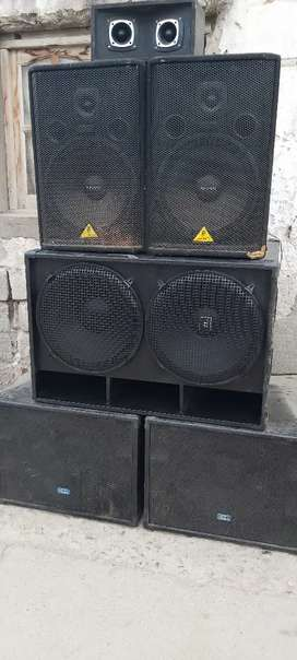 Vendo o permuto equipo de sonido profesional completo