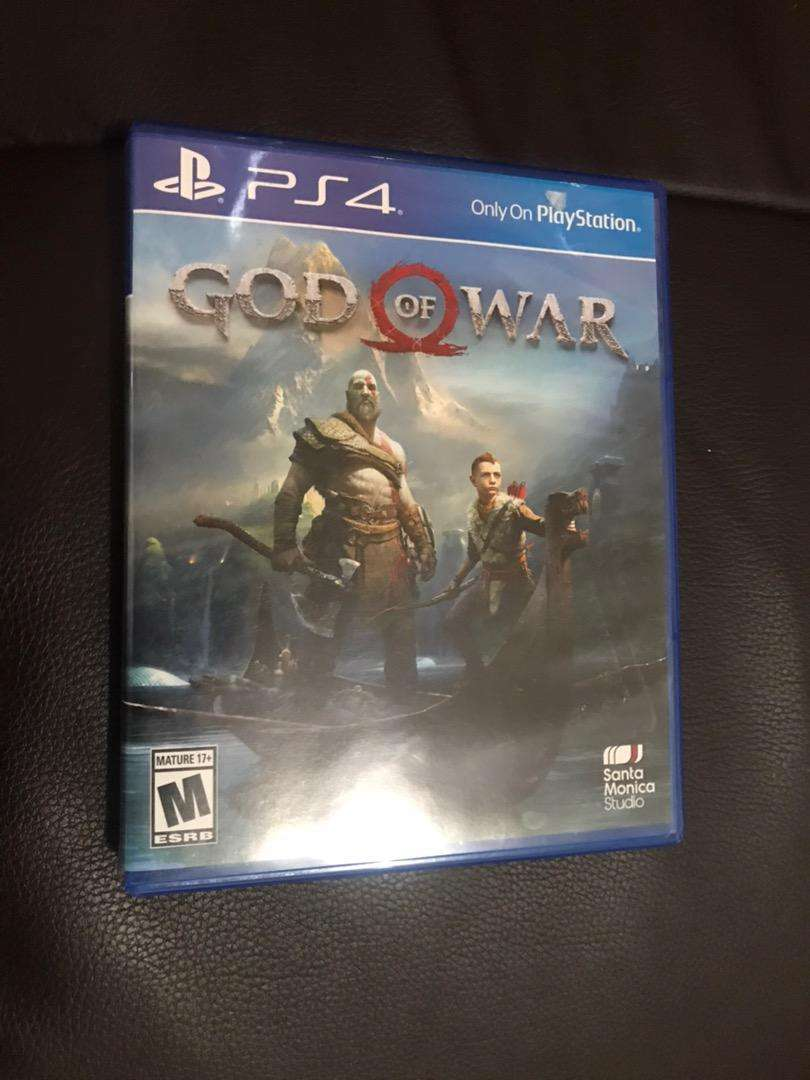 God of war para ply station 4 0