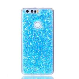 Case Cover escarchado mujer Huawei Honor 8