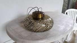 lampara de cristal.años 60 .