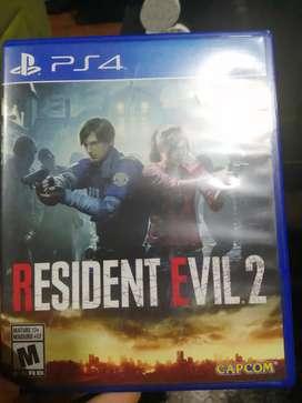 Resident evil 2 casi nuevo